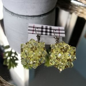 Jewelry - Swarovski crystal beaded earrings